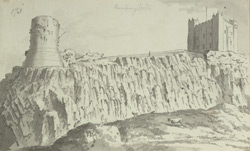 Bamburgh Castle f.173